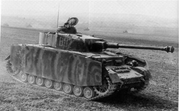 Образец танка PzKpfw IV