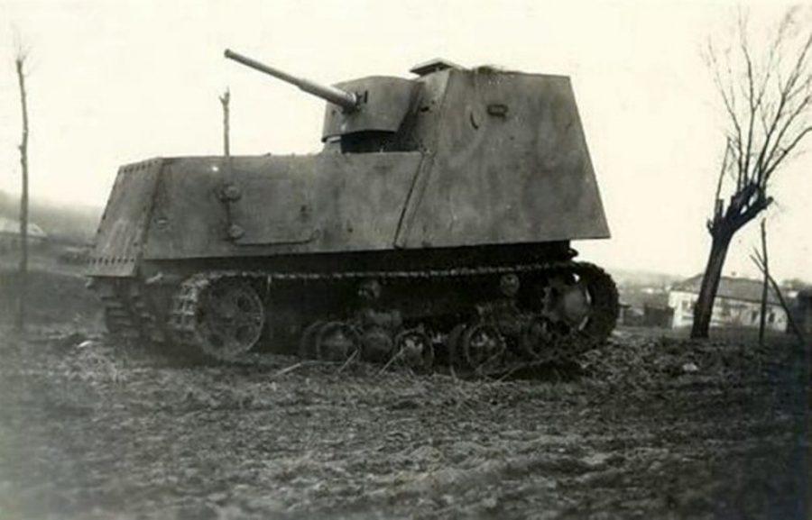 Самодельный танк из трактора