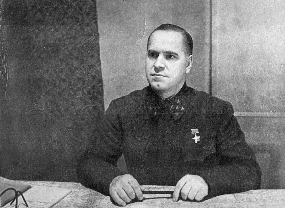 Портрет маршала Жукова перед Великой Отечественной Войной