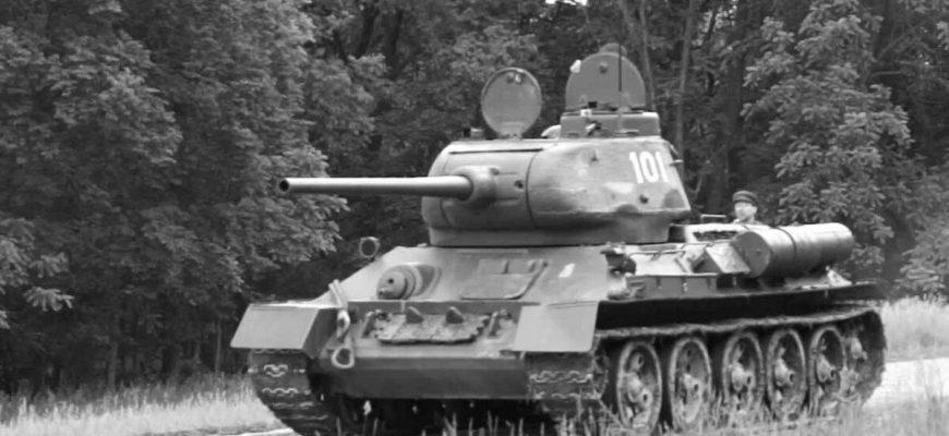 Советский танк Т-34