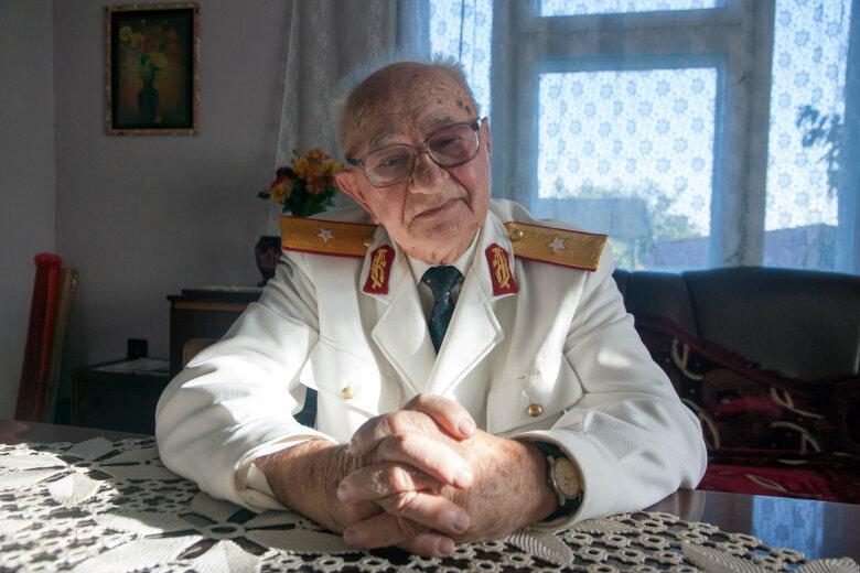 Портрет ветерана румынской армии Димофте Штефана