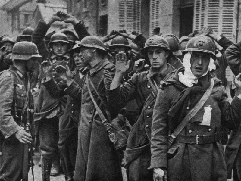 Солдаты из Франции