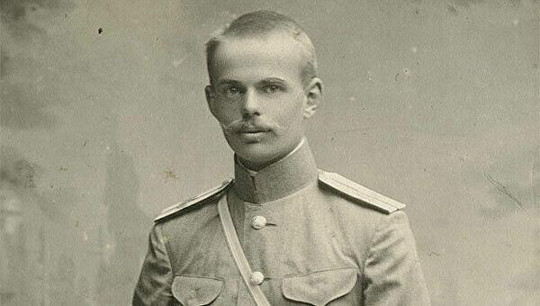 Портрет барона Унгерн-Штернберга в годы Первой Мировой войны