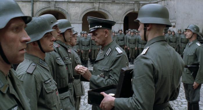Вручение наград солдатам Вермахта