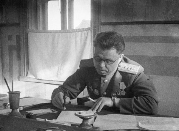 Портрет генерала М. Малинина