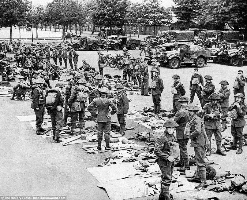 Дюнкерк в военные годы