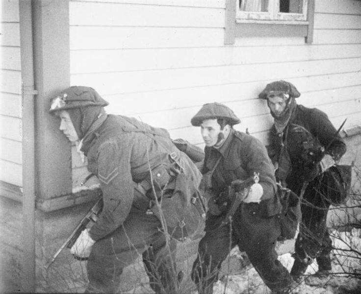 Британцы во время штурма города