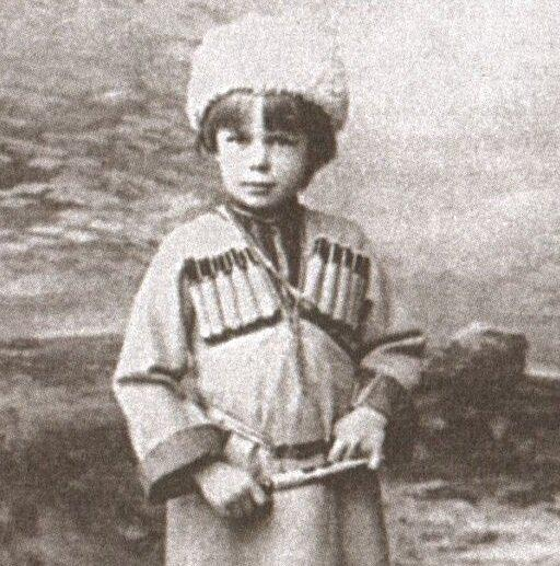 Барон Унгерн-Штернберг в детстве