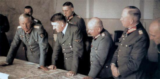 Гитлер и генералы Германии