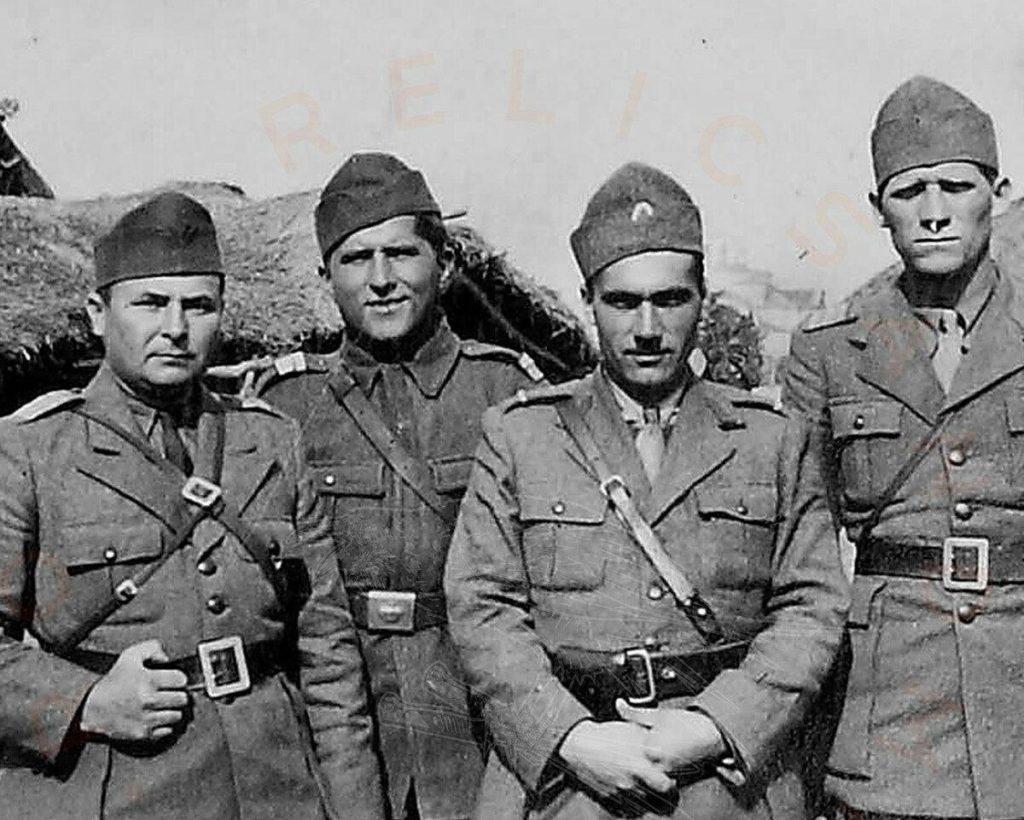 Офицеры из Румынии
