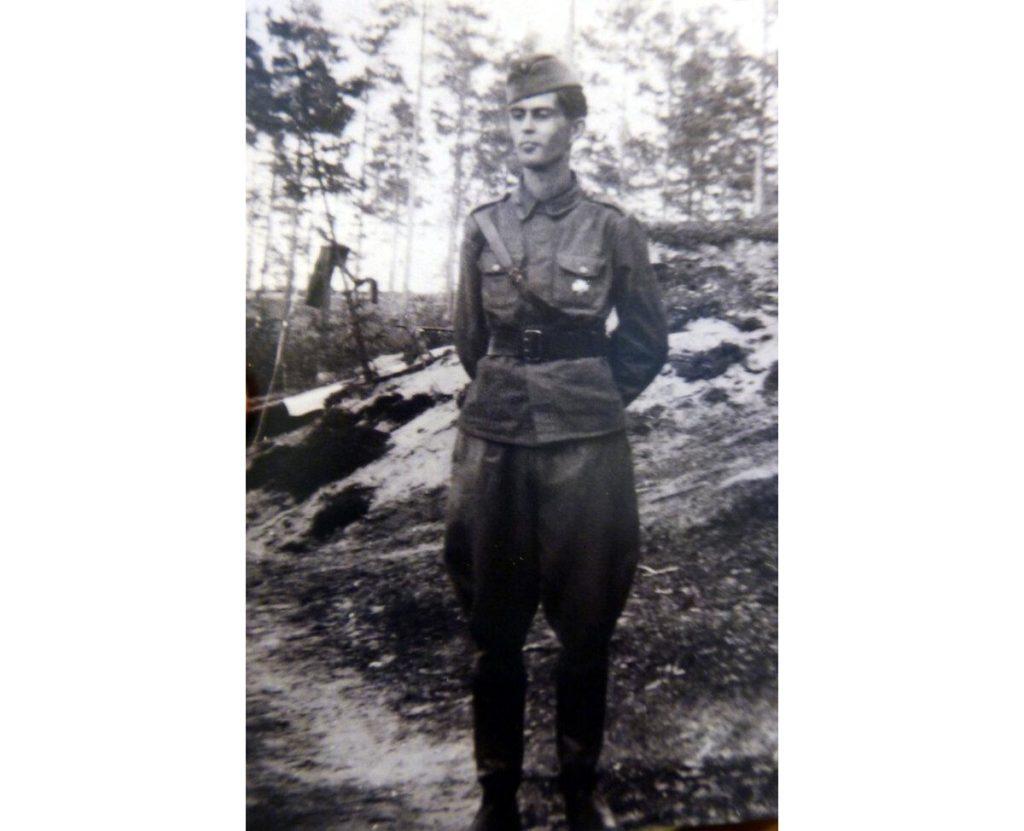 Финский солдат Матти Вильгельм