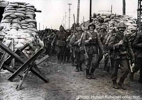 Марш румынских войск