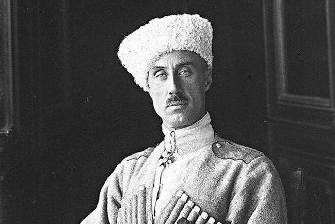Портрет барона Петра Врангеля