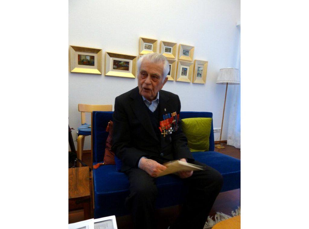 Ветеран Финляндии Матти Вильгельм