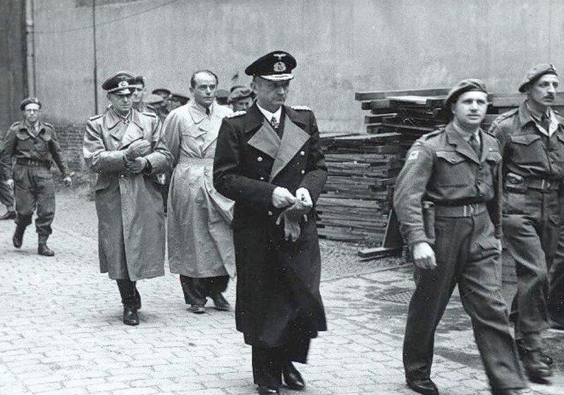 Арест адмирала Карла Деница