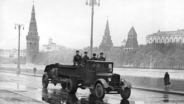 Москва осенью в 1941 году