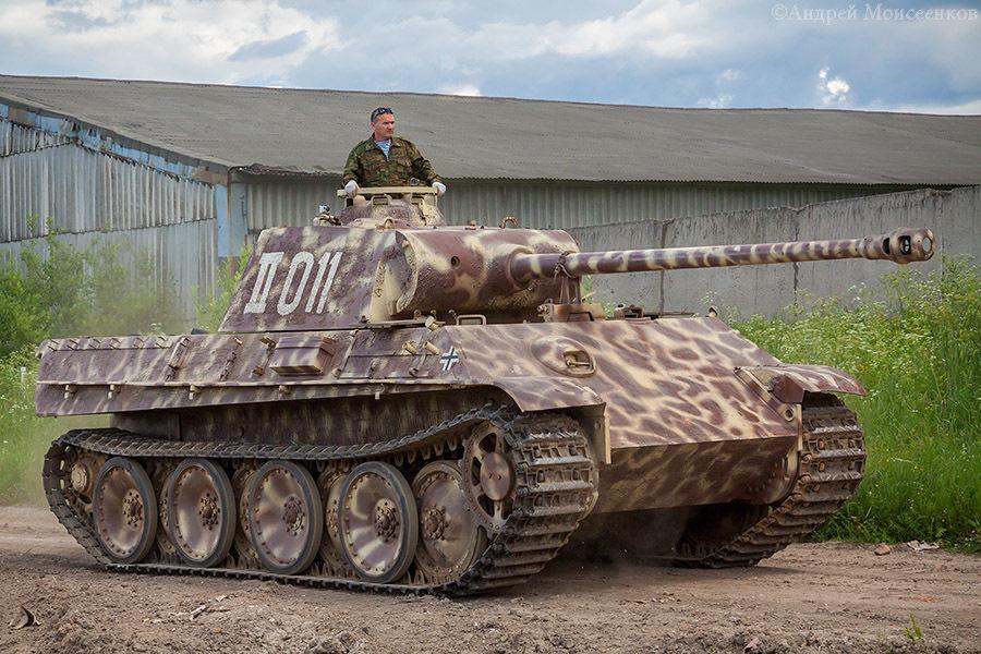 Образец танка Т-V «Пантера»