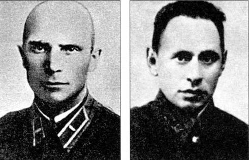 Портреты Ивана Зубачева и Ефима Фомина