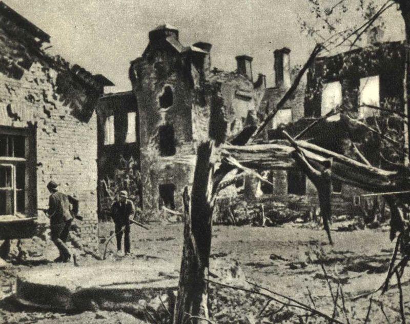 Немецкие солдаты в годы обороны Брестской крепости