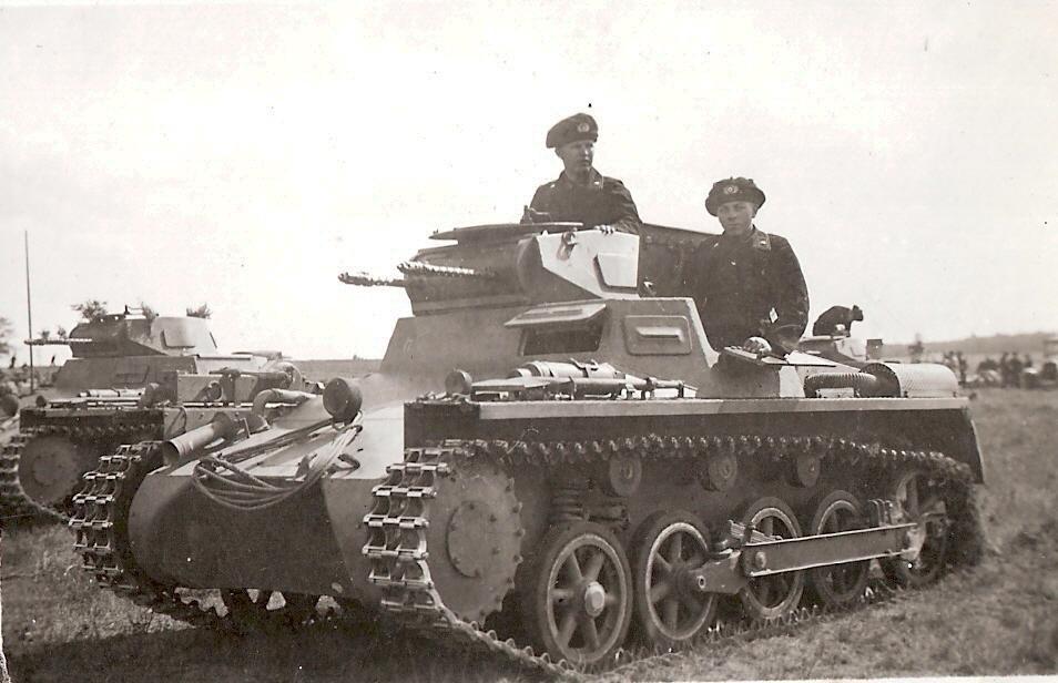 Образец танка Т-I