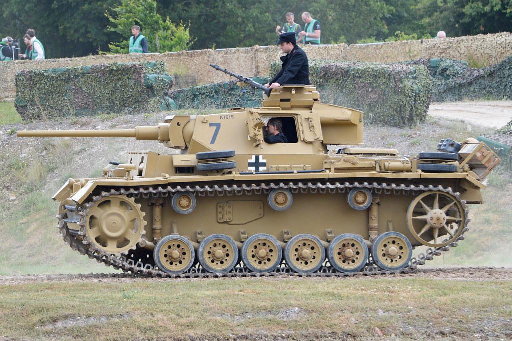 Образец танка Т-III