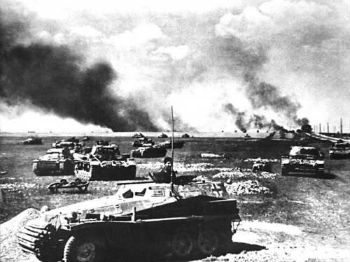 Прохоровка после советских танков