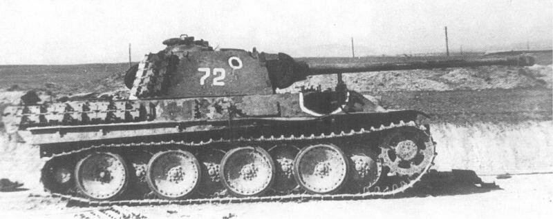 Подбитый советский танк Т-5