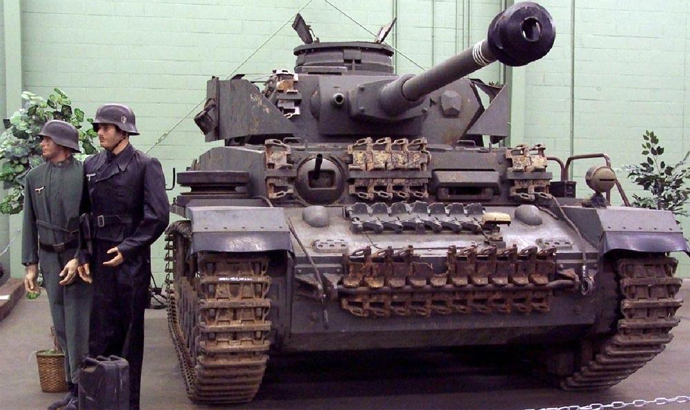 Образец танка Т-IV