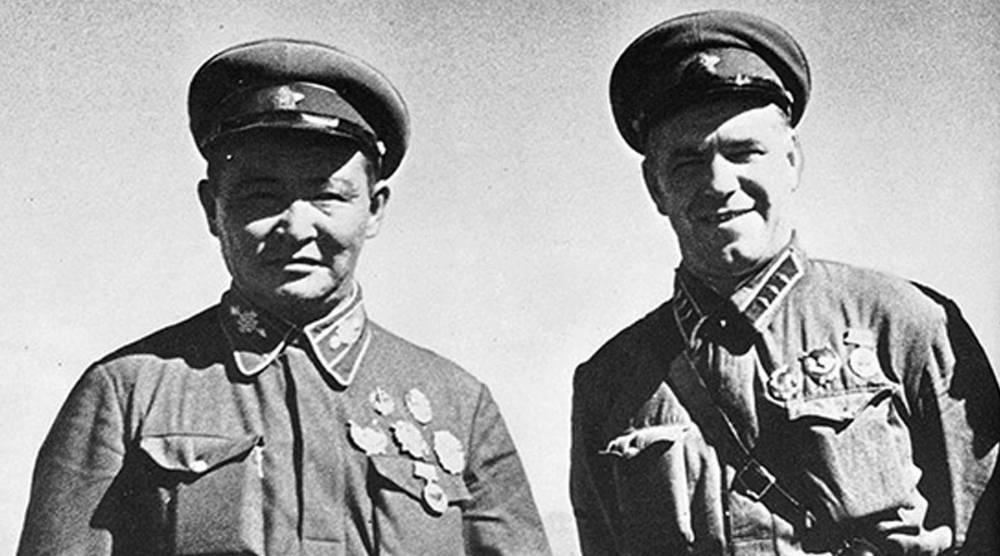 Жуков и Чойбалсан