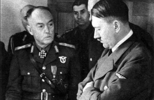 Антонеску и Фюрер на одном фото
