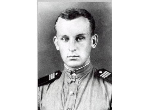 Портрет юного Николая Никулина