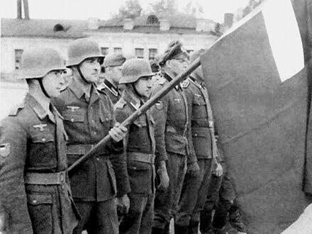 Солдаты Грузии в составе Вермахата