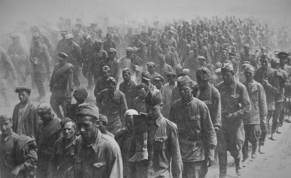 Пленные советские войска