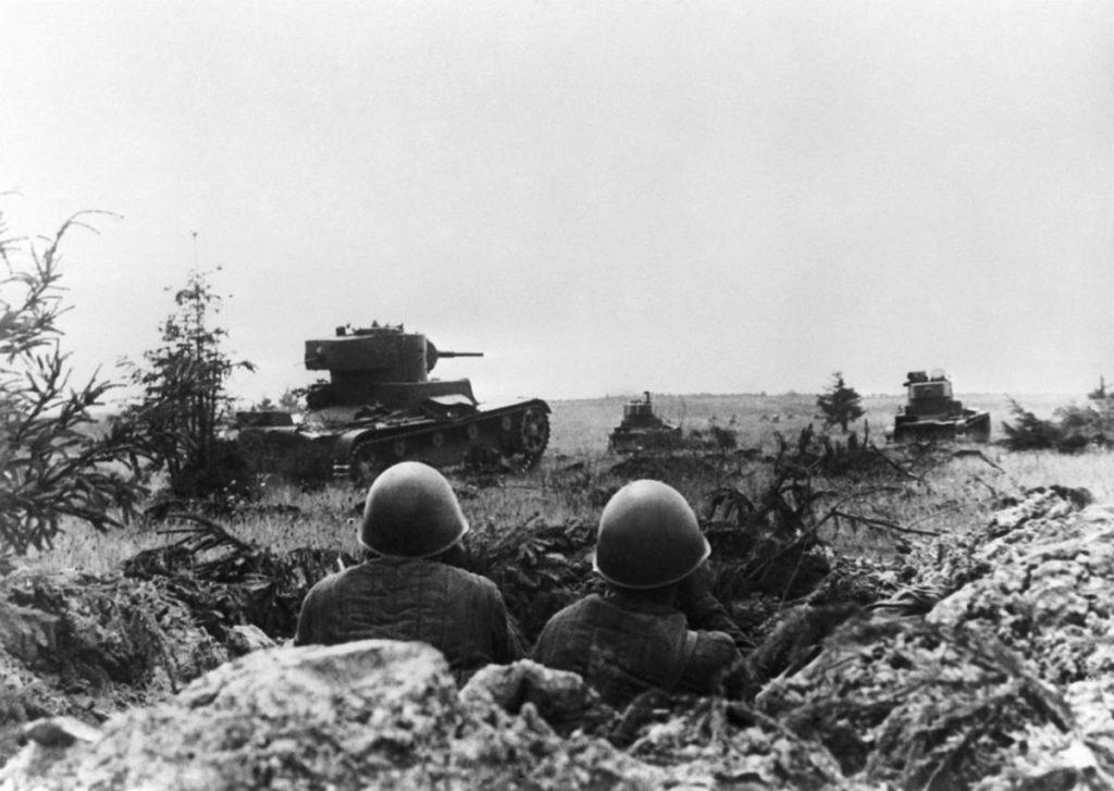 Сражение под Смоленском в 1941