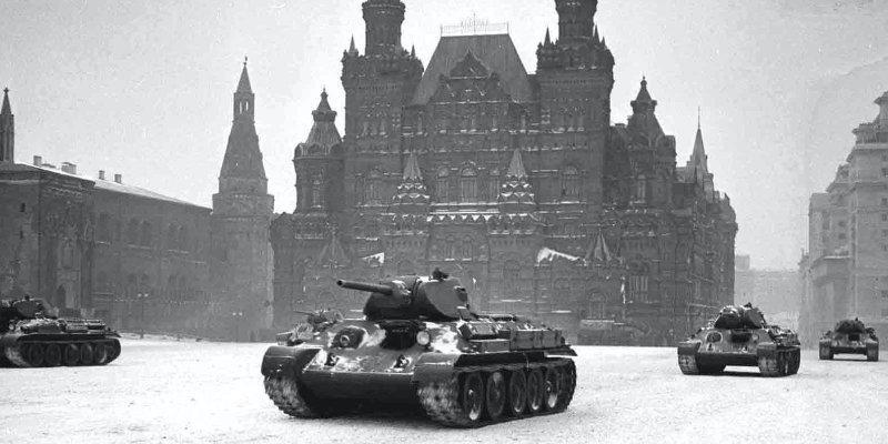 Фото танков на параде в ноябре