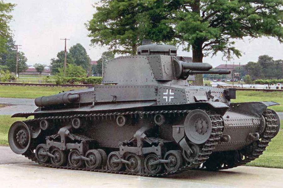 Образец танка Pz Kpfw 35(t)