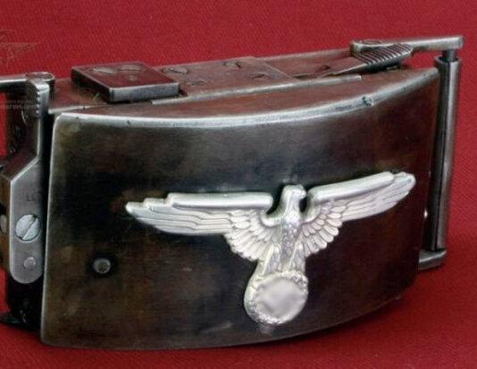 Изображение на пряжке-пистолете SS-Waffenakademie Koppelschloßpistole