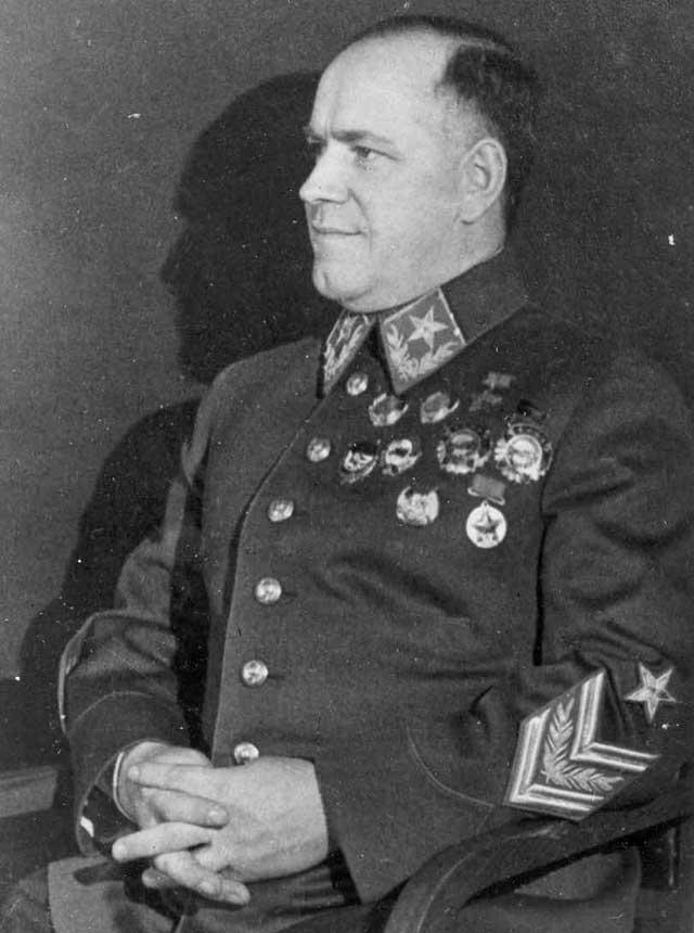 Портрет Г.К. Жукова в 1944 году