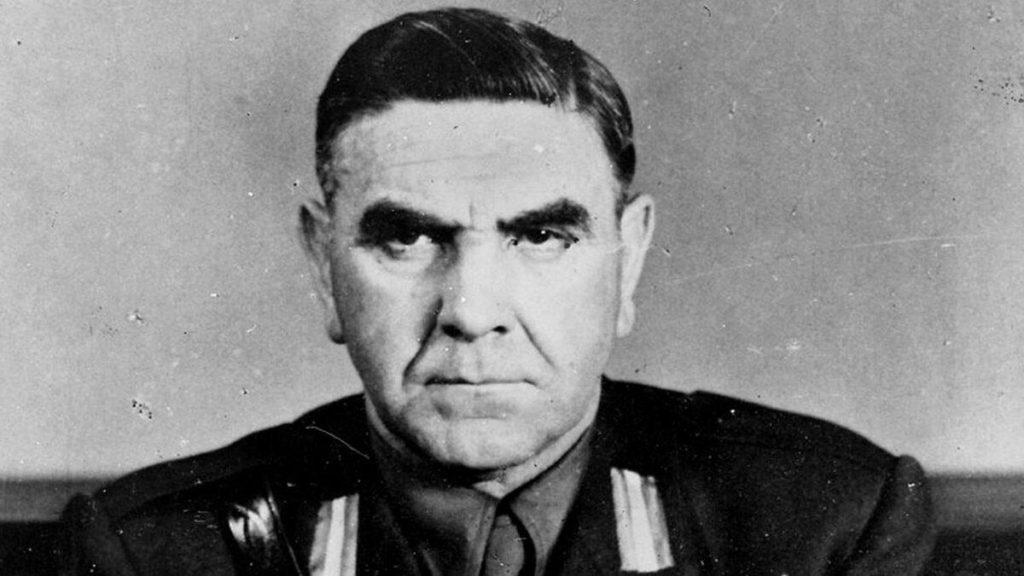Портрет националиста Хорватии Анте Павелич