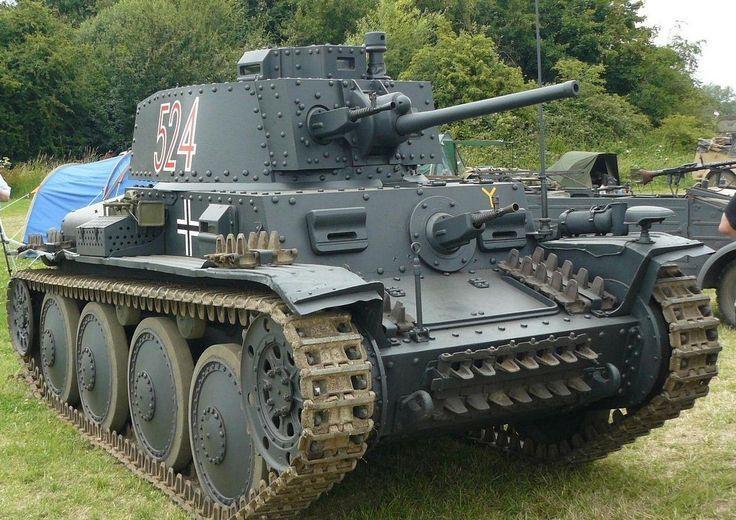 Образец танка Pz Kpfw 38(t)