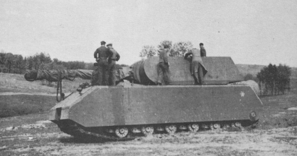 "Немецкий танк ""Маус"""