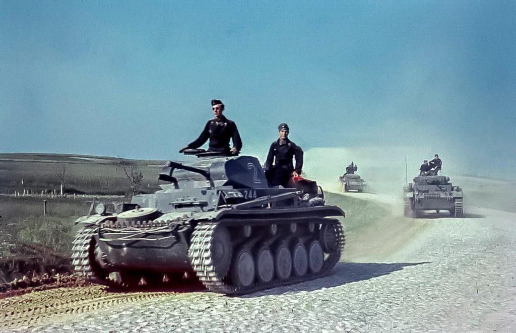 Образец немецкого танка Т-II