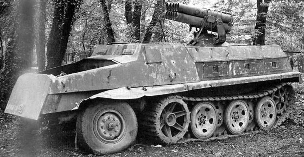 Образец Panzerwerfer 42