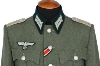 Форма с наградами Вермахта
