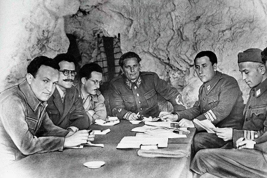 Иосип Броз Тито в годы войны