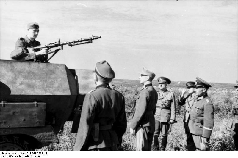 Солдаты Румынии в 1944 году