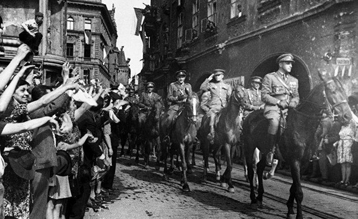 Освобождение Праги советскими войсками
