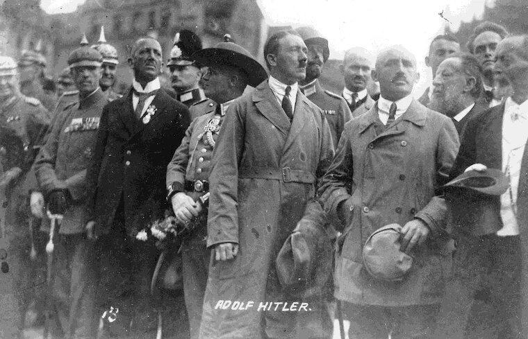 Гитлер и баварские консерваторы