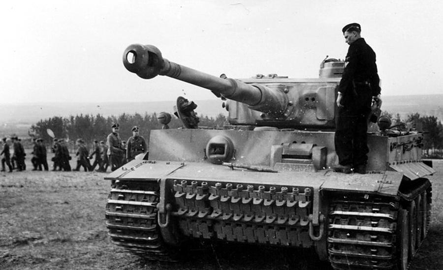 "Образец немецкого танка ""Тигр"""