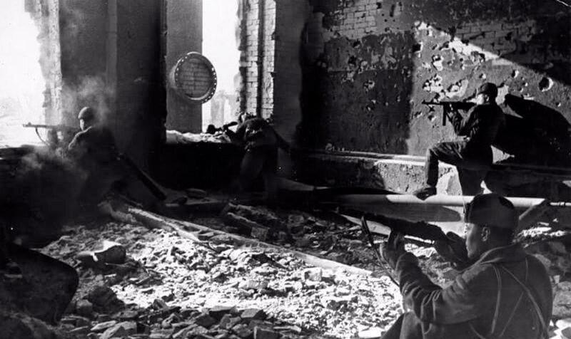 Сражение в Сталинграде в 1942 году